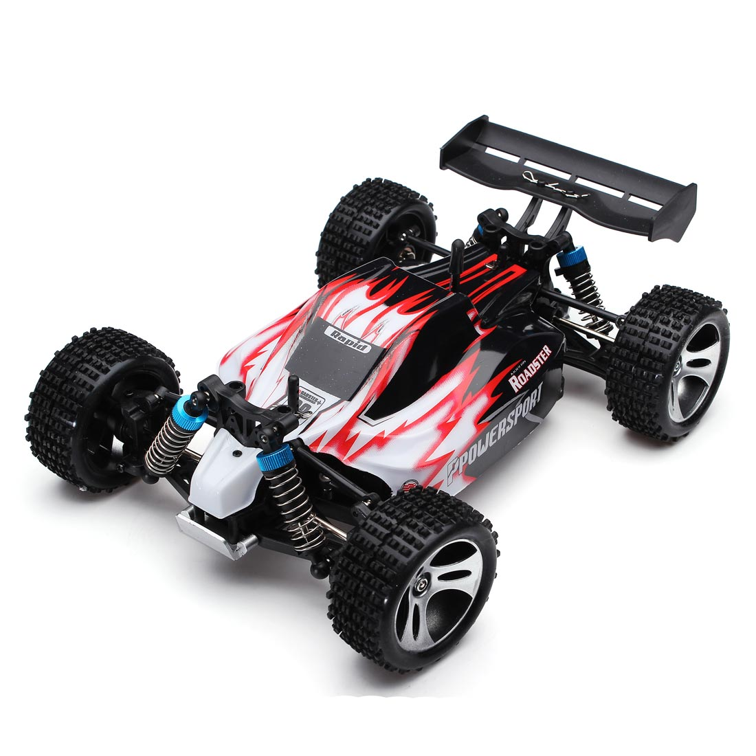 RC Car WLtoys A959 2.4G 1/18 Scale Remote Control Off-road Racing Car High Speed Stunt SUV Toy Gift For Boy RC Mini Car RTR mini rc car 1 28 2 4g off road remote control frequencies toy for wltoys k989 racing cars kid children gifts fj88