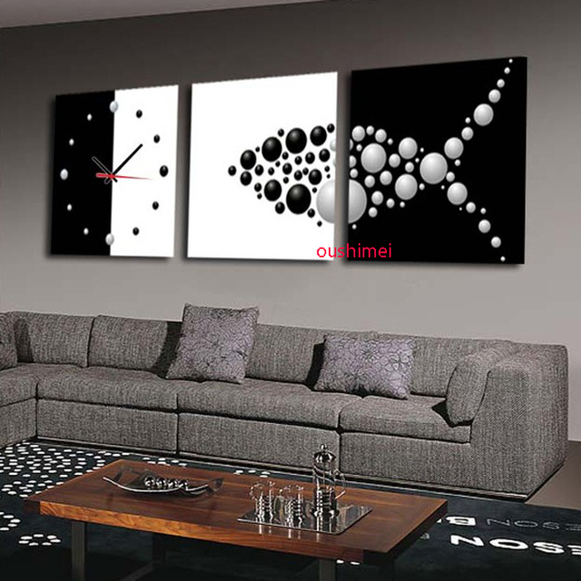 Painting For Office Aliexpress  Buy Hand Painted Picture On Canvas Abstract Fish