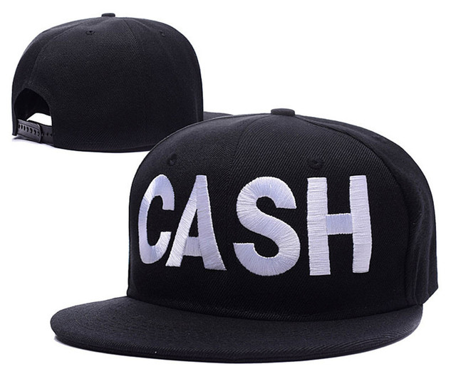 2015 ny Johnny Cash J.R. Cash Logo Johnny Cash Adjustable Snapback Caps  Folsom Prison Embroidery Hats e2f816f7055