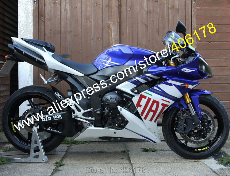hot sales yzf r1 2007 2008 fairing for yamaha yzf r1 07 08 race bike yamalube bodyworks motorcycle fairings injection molding Hot Sales,Cheap Body Kit For Yamaha 07 08 YZF-R1YZF R1 2007 2008 YZFR1 FIAT ABS Motorcycle Road fairing kit (Injection molding)