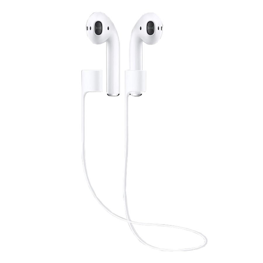 Anti-hilang Kabel Tali Telinga untuk Airpods Tali Gelung tali silikon untuk Aksesori Telinga Airpods Apple untuk Running Outside