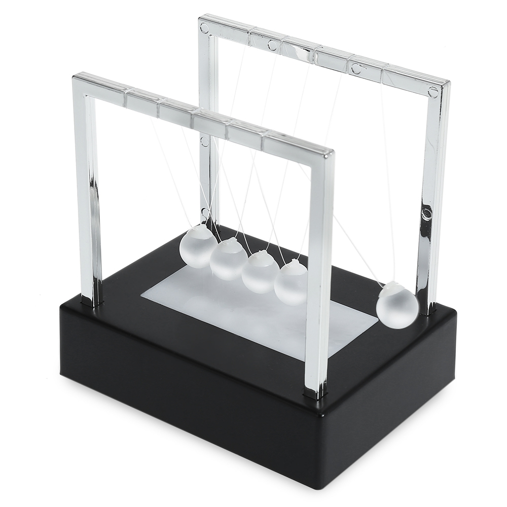 KAWO Φωτιστικό Γυάλινο Εκκρεμές Γυαλιού 2cm από Newton Cradle Balance Ball for Desktop Decoration