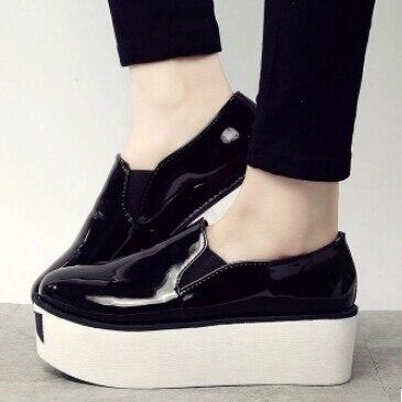 Aliexpress.com : Buy New Women Creepers Platform Shoes Woman Flats ...