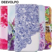 цена на DEEVOLPO Luxury Case For Fundas HTC One M8 Coque Sunset Koala Lavender Butterfly Leather Wallet Stand Card Bit Cover Bag DP23Z