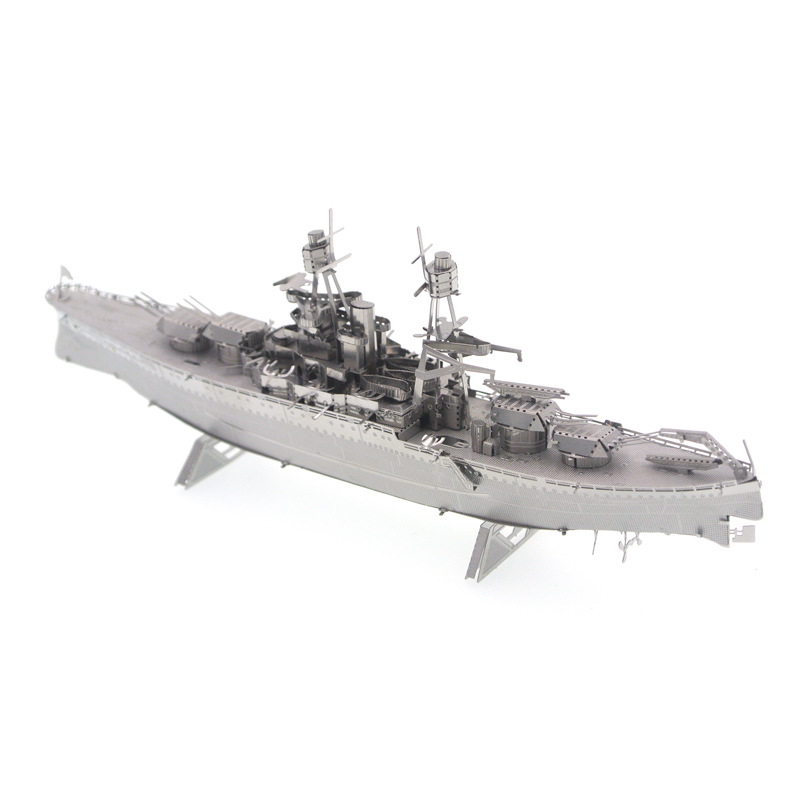 2018 Sale Top Fashion <font><b>Arizona</b></font> Battleship Metal 3d Jigsaw <font><b>Puzzle</b></font> Arts And Crafts Toy Collection