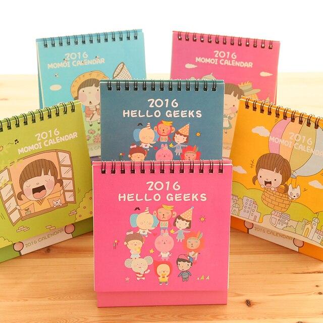 2016 calendar desktop office supplies cute calendar 2016 custom
