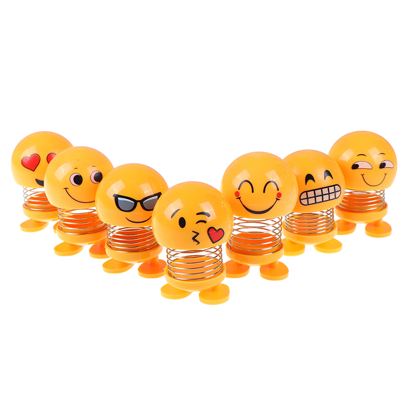 Toy Spring Interior Shaking Smiley Head-Doll Store-Toys Villain Explosion-Section