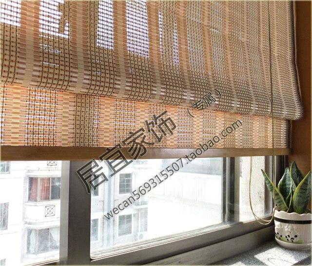 Bambus Vorhang Klapp Balkon Fenster Vorhang Rollladen Partition