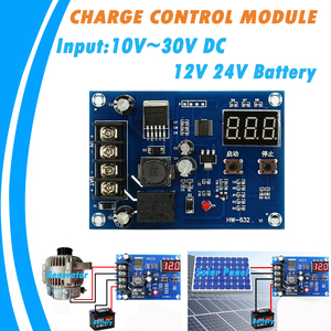 20A Generator Power Supply Solar Cells Charge Control Module for 12V and 24V Battery Protection Board 10V to 30V DC Input(China)