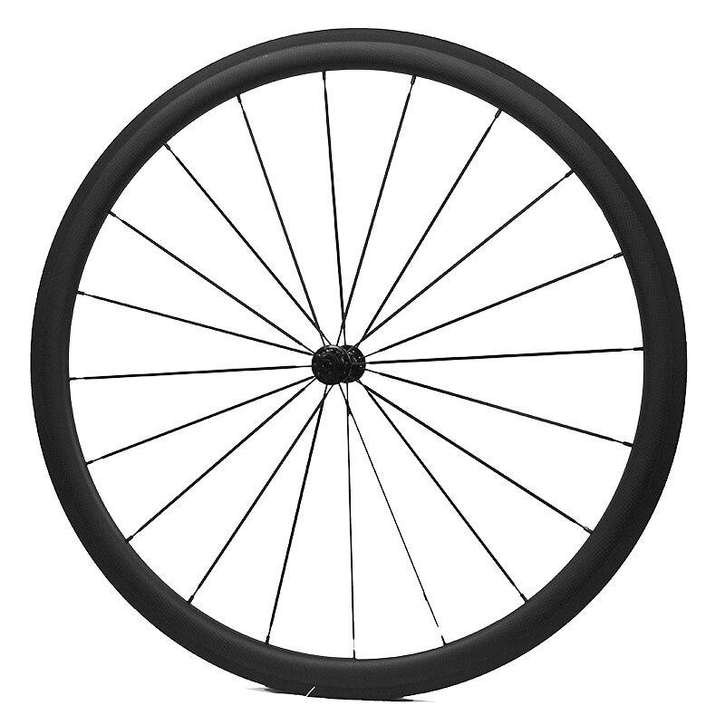 Front 38mm Carbon wheels 100% Carbon Fiber T700C Carbon Road Wheels 700C Clincher 50mm Rear Wheel R36 hub bicicleta Wheels quantum s top road hub ql z52f rear hub ql z91r