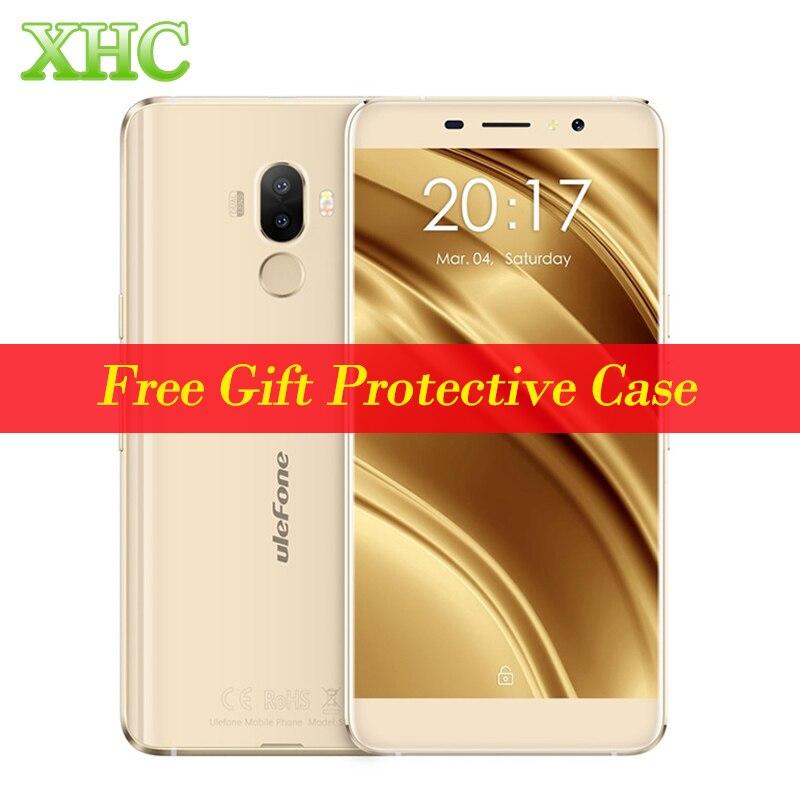 Original Ulefone S8 Fingerprint Id Mobile Phone RAM 1GB ROM 8GB Dual Rear Cameras 5.3 inch Android 7.0 MTK6580 Quad Core 1.3GHz