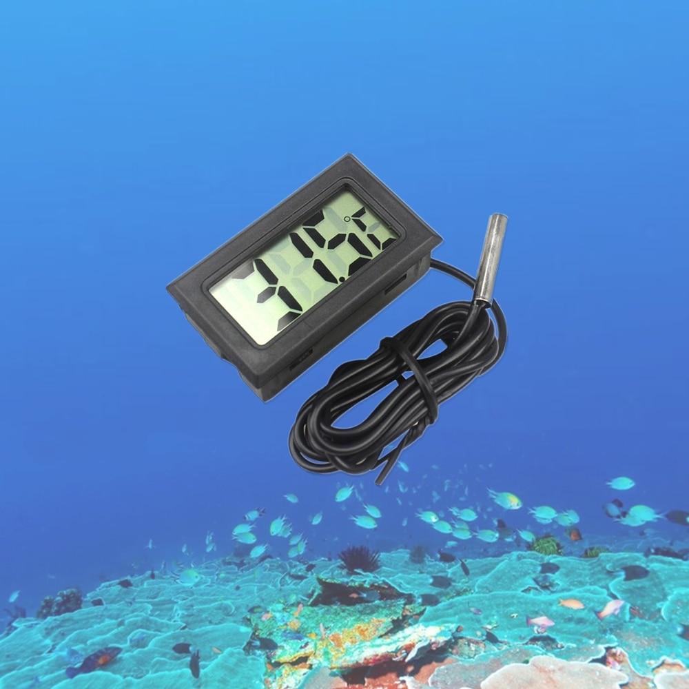 Mini LCD digitální teploměr vlhkoměr lednička mrazák tester - Měřicí přístroje - Fotografie 3