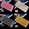 Etiqueta de lujo de bling full body decal glitter para iphone 6 6 s película protectora etiqueta case cubierta capa colorido libre gratis
