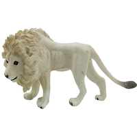 White Simulated Animal World Wildlife Animals Model Toys Plastic Kindergarten Teaching Aids Children Birthday Gifts
