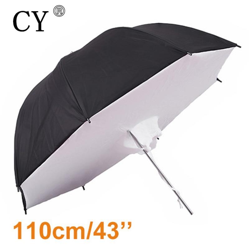 43 110cm Studio Umbrella Softbox Reflector Brolly Photography  Studio Umbrella Photo Studio Accessoriesumbrella hats for saleumbrella  backpackumbrella size