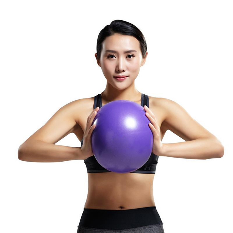 25cm Mini Pilates Yoga Ball Physical GYM High Endurance Yoga Fitness Ball Home Exercise Balance Trainer gym Ball ...