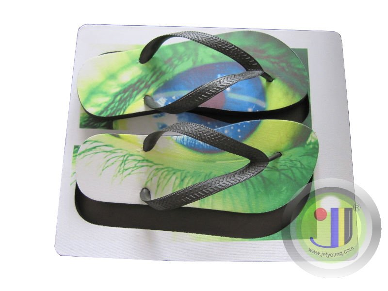 9fff30c5cb70d Jetyoung Customize Sublimation Flip Flop  Slipper. Up polyester down rubber  material