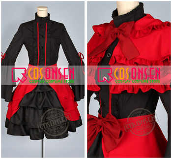 Cosplayonsen kプロジェクト台所アンナコスプレロリータドレス衣装すべてのサイズカスタムメイド