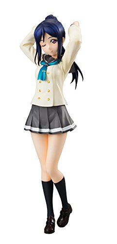 21cm Japanese original anime figure Lovelive SSS school uniform ver kanan Matsuura action figure collectible model toys for boys japanese original anime figure lovelive sunshine watanabe you action figure collectible model toys for boys