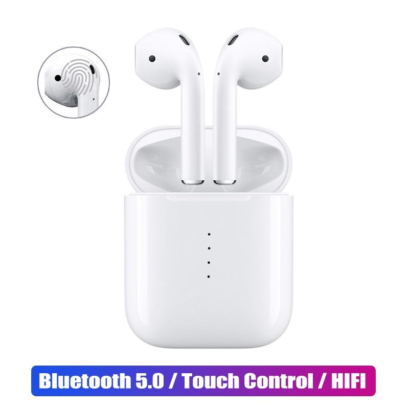 Origina i10 TWS Tactile Bluetooth Écouteurs 5.0 Musique 3D Stéréo Casque pour Apple iphone Samsung Sony Sans Fil Écouteurs air gousses
