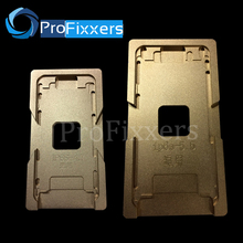 2pcs/lot Aluminium Mould For iPhone 6/6S 4.7″,iphone 6/6S plus 5.5″ Laminator mold metal jig for front glass with frame Location