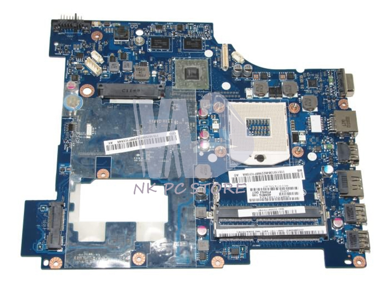 PIWG2 LA-6753P Main board For Lenovo G570 Laptop Motherboard / System Board HM65 ATI Graphics DDR3 100% tested 645386 001 laptop motherboard for hp dv7 6000 notebook pc system board main board ddr3 socket fs1 with gpu