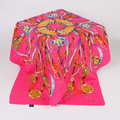 Cheap Women 100x100cm Twill Silk Polyester Blend Square Scarves