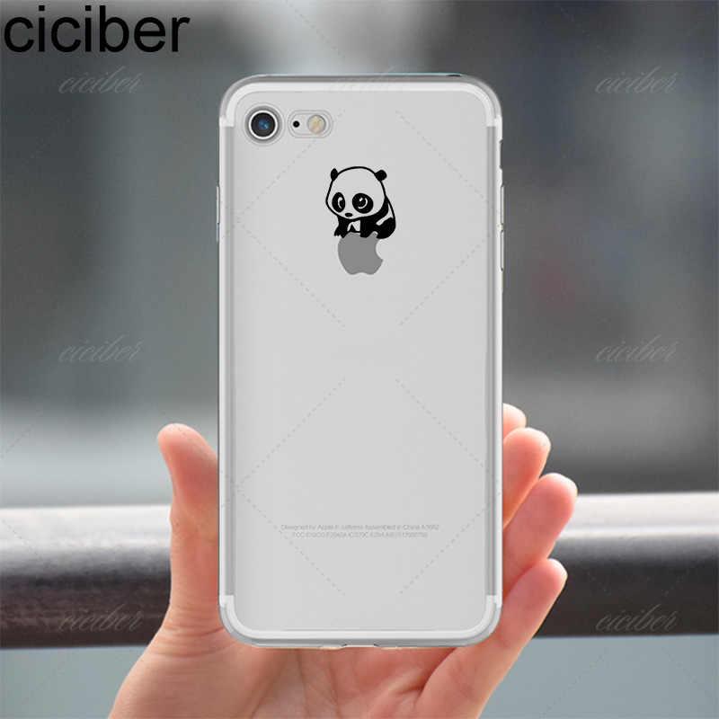 Ciciber coques de téléphone Animal intéressant Pandas souple housse de protection pour iPhone 11 Pro Max 6 6S 7 8 plus 5 5S SE XR X XS Max Coque