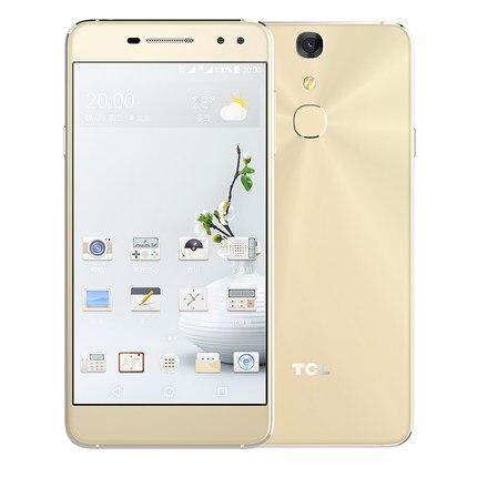 Цена за Оригинал TCL 750 Мобильного Телефона Helio P10 MTK6755M Octa Ядро 3 Г RAM 32 Г ROM 5.2 Дюймов FHD Экрана 8/16MP Камера 4 Г LTE смартфон