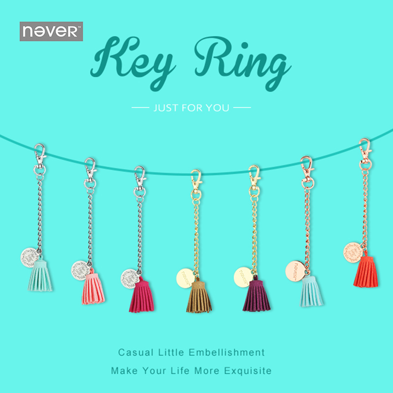 купить NEVER Tassels planner pendant for spiral notebook diary decorative accessories creative stationery office and school supplies по цене 331.7 рублей