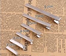 Металлические одиночные зажимы для волос банты аллигатора 20