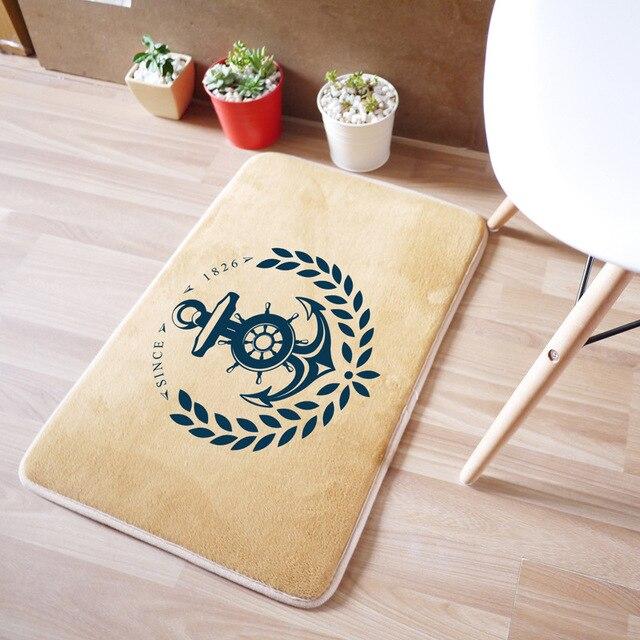 40x60CM Mat For Floor Mats Home Decorative Bedroom/Bath Carpet Non Slip  Hotel Bedside