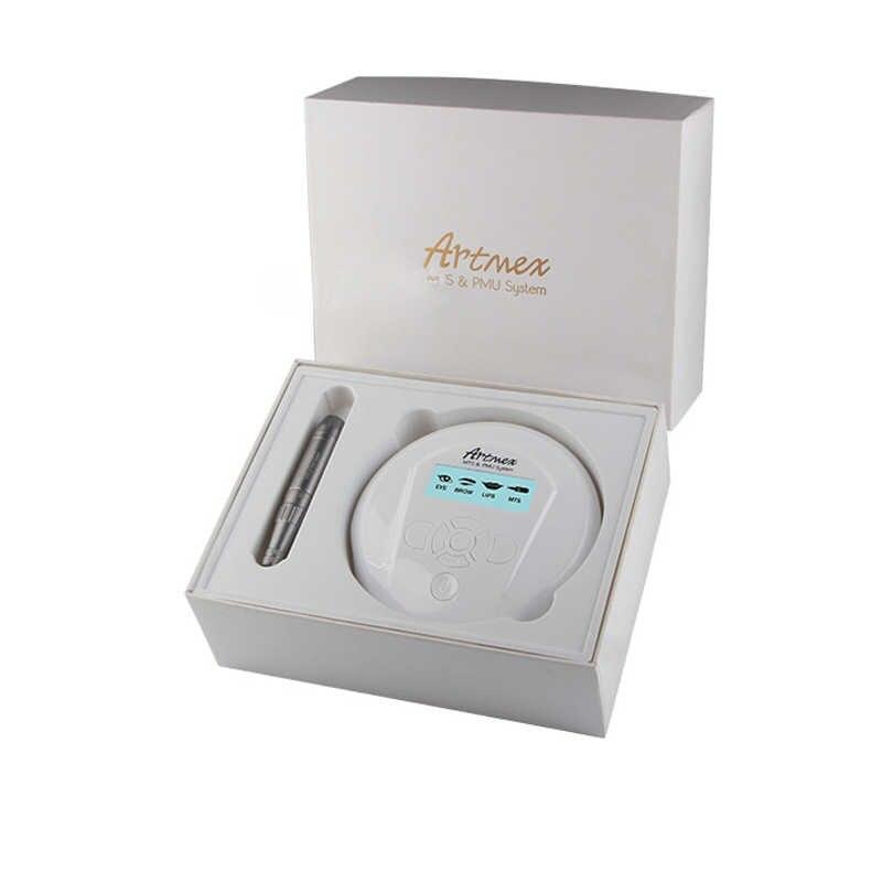 แต่งหน้า Eyebrow TATTOO เครื่องแผงควบคุมดิจิตอล Micropigmentation อุปกรณ์ Eye Brow Lip โรตารี่ปากกา Artmex V6