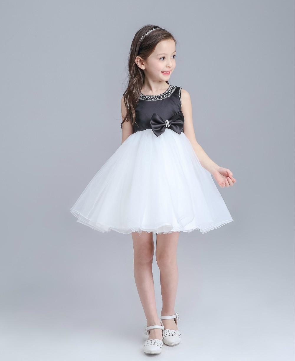 New 2016 Baby Girl Dresses Princess tutu dress Beading 1 year ...