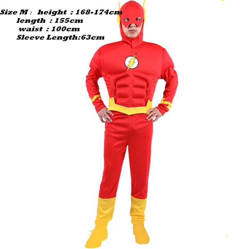 qualità superiore confrontare il prezzo scegli il meglio US $79.5 |Il Flash Cosplay Il Flash Barry Allen Cosplay uomini Adulti  Costume di Halloween Carnevale Cosplay Costume su Aliexpress.com | Gruppo  ...