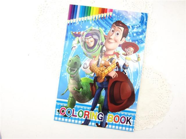 Disney Children Kindergarten Stationery Cute Cartoon Toy Story Paper