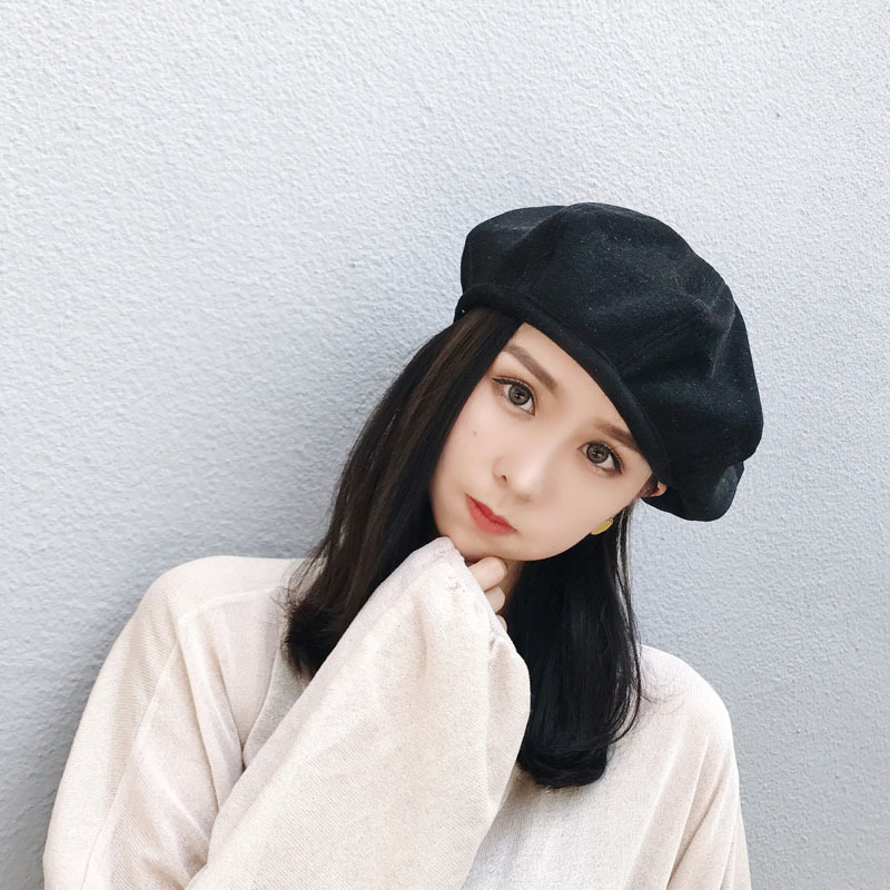 Hot Sell New Winter Women Hat Vintage Berets Caps Pillbox Hat Gorras Planas Hombre Hats Beret Boinas Mujer Beanie Hat wholesale