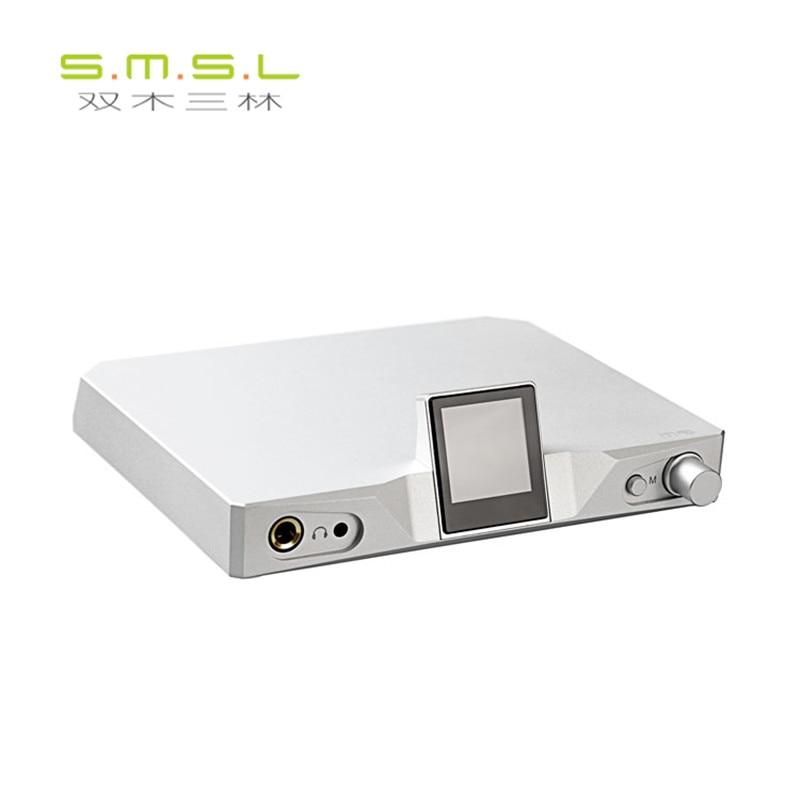 SMSL M9 32bit/768kHz DSD512 AK4490x2 XMOS HiFi Digital Decoder Optical/Coaxial/USB DAC Headphone amplifier Aluminum Enclosure smsl latest 6th sanskrit usb dac 32bit 192khz coaxial spdif optical hifi audio amplifier decoder new version with power adapter