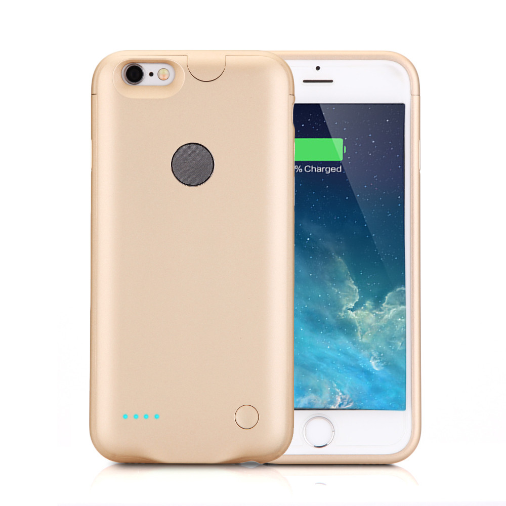 for iphone 7 plus battery case extra slim rechargeable protective charging case 3000mah portable. Black Bedroom Furniture Sets. Home Design Ideas
