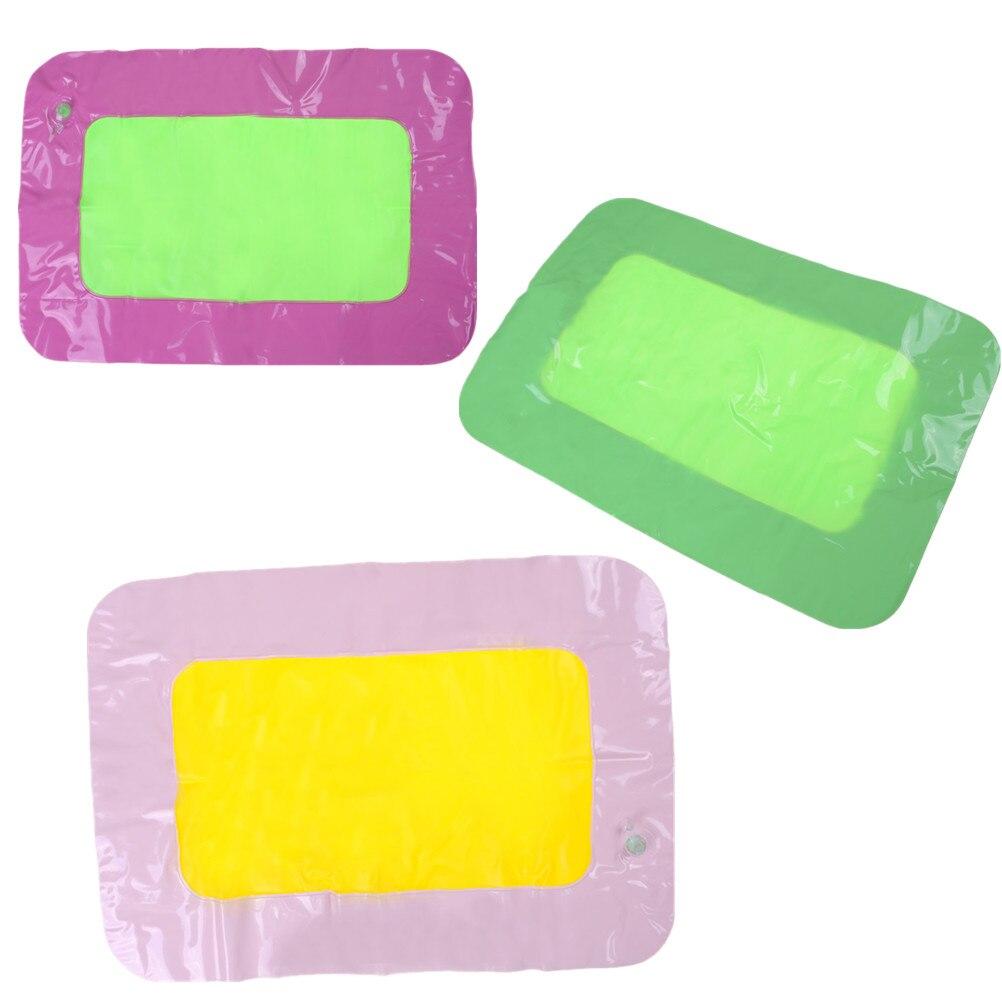 Methodisch Indoor Play Zand Opblaasbare Zand Lade Kasteel Mobiele Tafel Multifunctionele Zand Mold Plastic Kinderen Kids Klei Kleur Modder Speelgoed