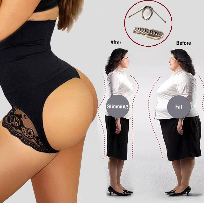 db83f5cea8850 Photo Show. NINGMI Sexy BuLifter Control Panties Women Waist Trainer Body  Shapers Pulling Underwear Slimming Pant Hip ...