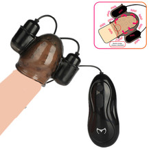 Male Glans Vibrator for Man Dildo Delay Lasting Extender Trainer Remote Control Penis Massager Adult Sex Toys Male Masturbator
