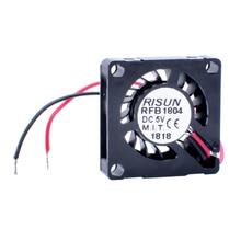 New and original COOLING REVOLUTION RFB1804 18x18x4mm Nano Fan Miniature Blower 5V PM2.5 Detector Chip Fan Drone Fan new and original inverter fan 5214nh 12738 24v 0 415a 10winstrumentation fan 127 127 38mm