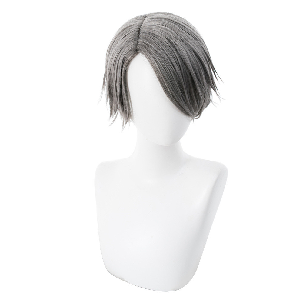 Game Identity V Embalmer Aesop Carl Cosplay Wig Heat Resistant Synthetic Wig Halloween Party Cosplay Wig