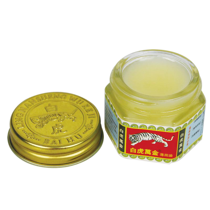 1pcs Natural Vietnam White Tiger Balm Oil Arthritis Muscle Aches Pain Relieving Soothe Itch Headache Massage Relaxation A083