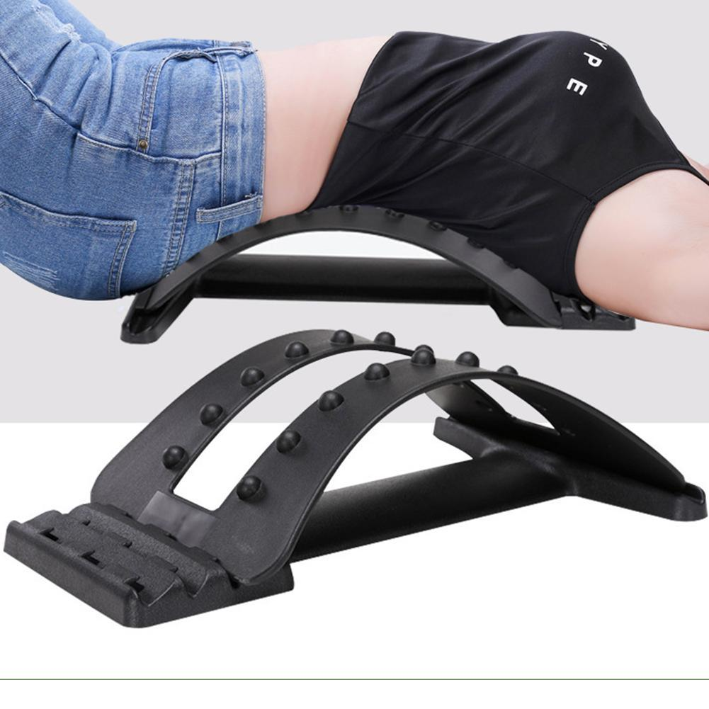 Magic Lumbar Spine Tractor Fatigue Aches Relief Device For Lumbar Intervertebral Disc Protrusion Therapy Waist Back Massage Tool