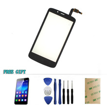 For Huawei Honor Holly 3C Hol-T00 HOL-U10 Hol-U19 5.0″ Digitizer Black touch Screen front panel glass+ Film +Sticker+Tools