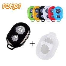 FGHGF Bluetooth телефон Автоспуск кнопка спуска затвора для iPhone 7 палка для селфи с затвором релиз беспроводной пульт дистанционного управления для huawei