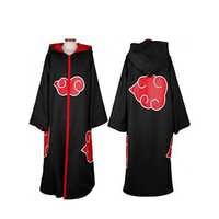 Naruto Cosplay Kostüm Zubehör Akatsuki Uchiha Itachi Mantel Hoodie Anime Halloween Party Erwachsene Cosplay Kleidung Dropshipping