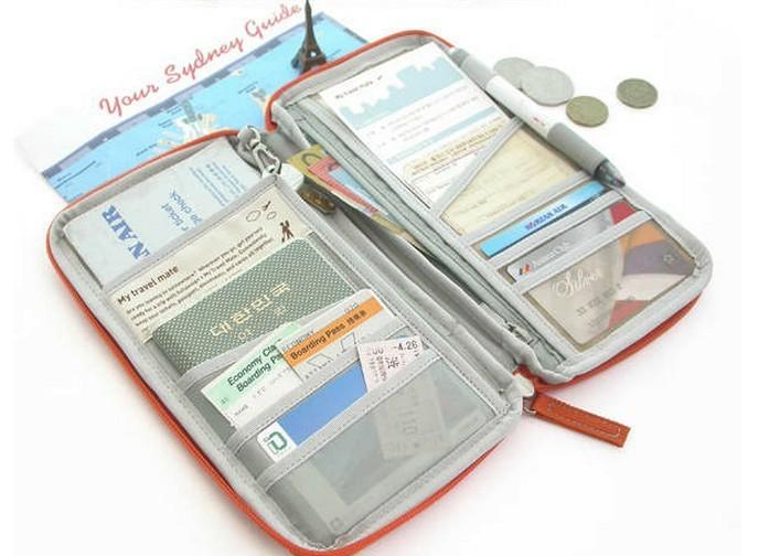 билет дель поездок владельцем паспорта зажимы для денег водонепроницаемый поры документ билетов наличных владельца паспорта мешок